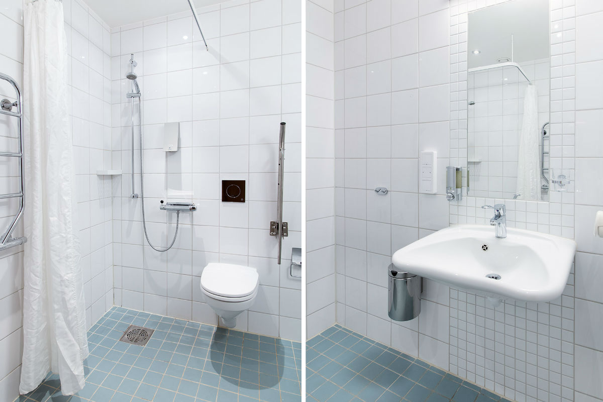 Fredrik Bloms väg 30 A - bathroom